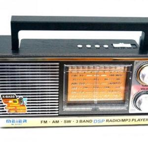 Радиоприемник Meier M-U107 AM/FM/SW MP3