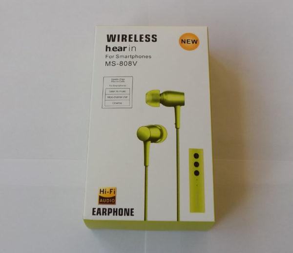 Беспроводная гарнитура MS-808V Wireless