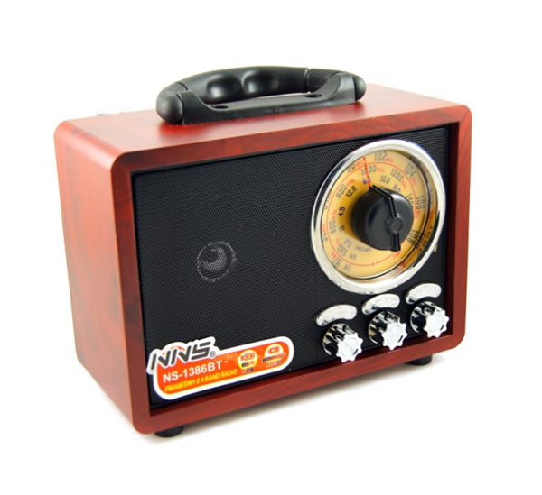 Ретро радиоприемник NNS NS-1386BT