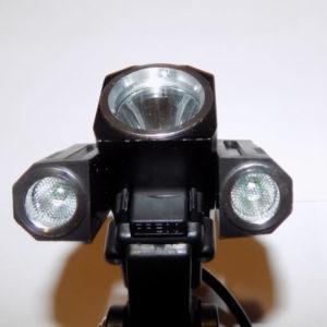 Налобный фонарь с поворотными фарами Поиск P-1825B-Т6 180000W