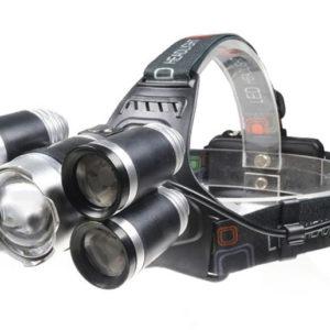 Налобный фонарь P-T15C-T6 ZOOM (HL-8230 T6) пять светодиодов