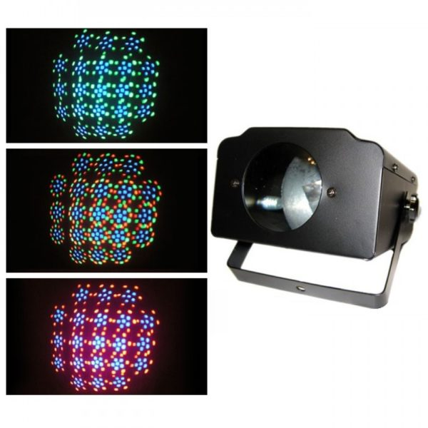 Мощная светодиодная музыкальная установка RGB LED Kaleidoscope WA0098