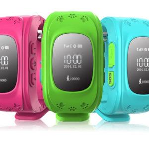 Умные детские часы Q50 с GPS трекером для отслеживания