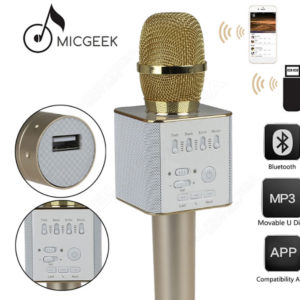 Микрофон караоке Q9 Tuxun Micgeek