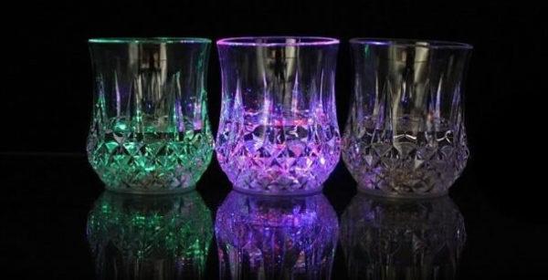 Бокал со светодиодной подсветкой Inductive Rainbow Color Cup