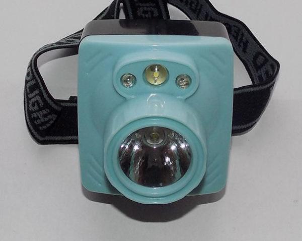 Налобный фонарь SL-2016 с сигнальными светодиодами