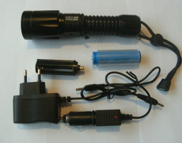Фонарь светодиодный ручной на аккумуляторе FA-TS40 T6