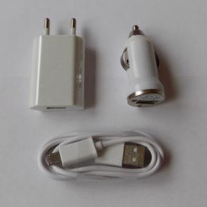 Зарядное устройство 3 в 1 USB кабель LV-301