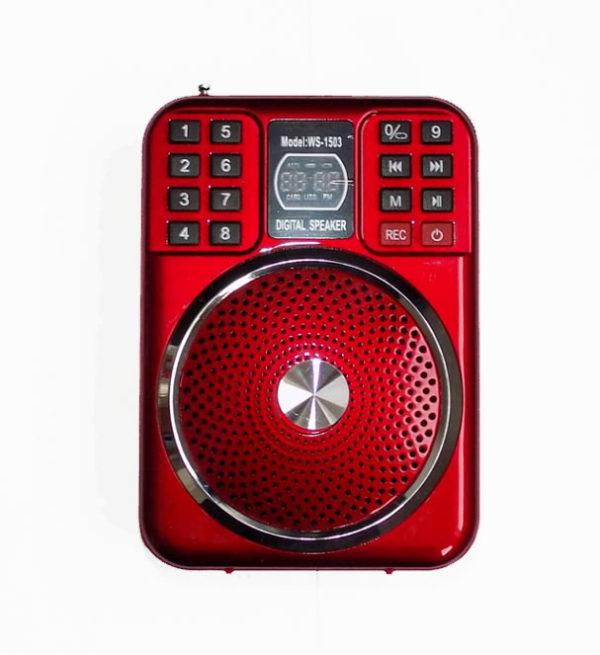 Мегафон радиоприемник LoadSpeaker WSTER WS-1503