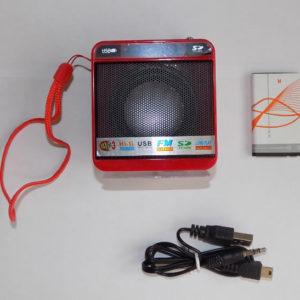Радиоприемник мини колонка WSTER WS-918