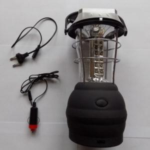 Большой кемпинговый светодиодный динамо фонарь Y-657