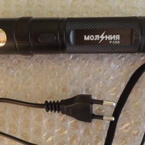 Фонарь электрошокер Молния YB-1316