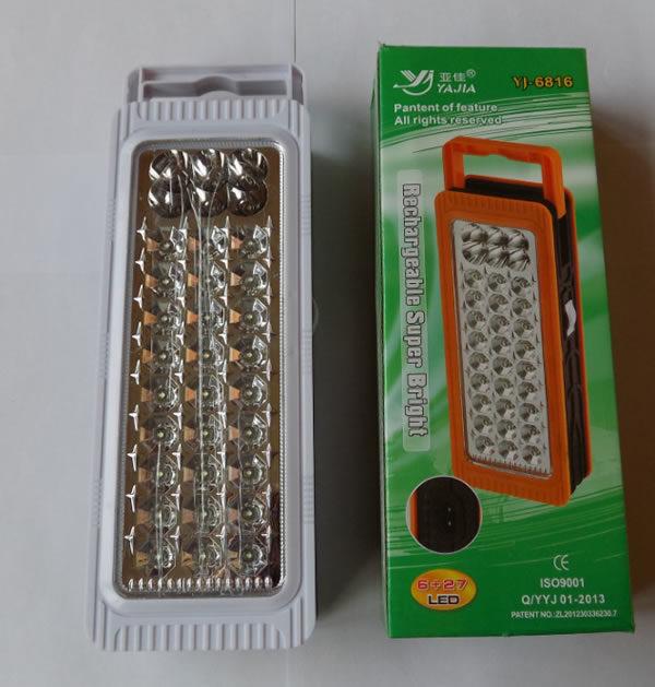 Светодиодный светильник YJ-6816 (6+27 LED)