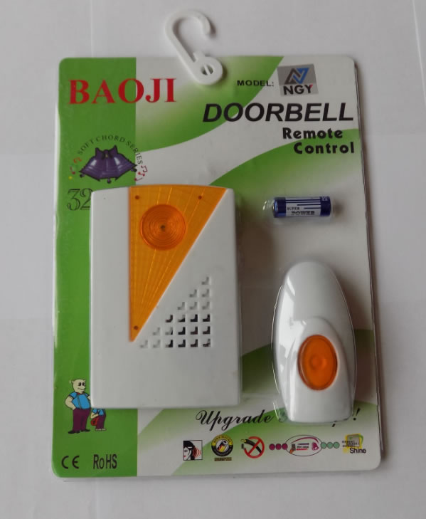 Звонок дверной беспроводной Baoji 32 мелодии