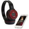 Беспроводные наушники N-65BT ЖК дисплей MP3 плеер FM радио 4462